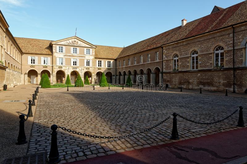 Beaune City Hall. Beaune is the wine capital of Burgundy in the Côte d`Or department in eastern France. It is one of the key wine centers in France, and the stock photos