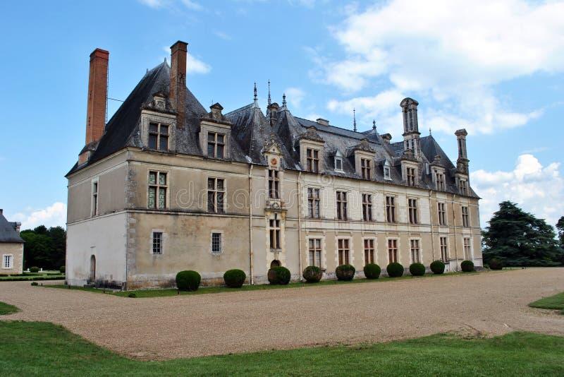Beauregard slott royaltyfria bilder