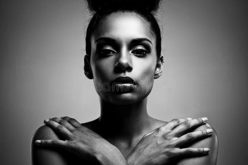 Beauté africaine photographie stock
