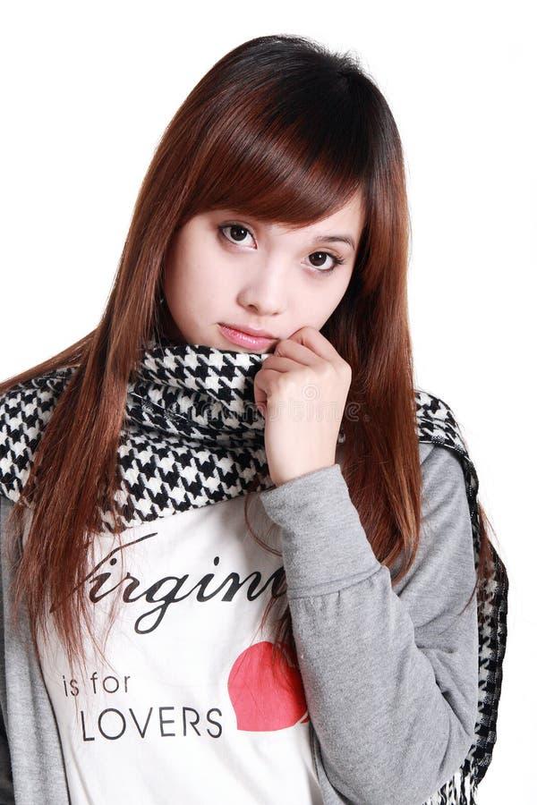 Beauté asiatique. image libre de droits