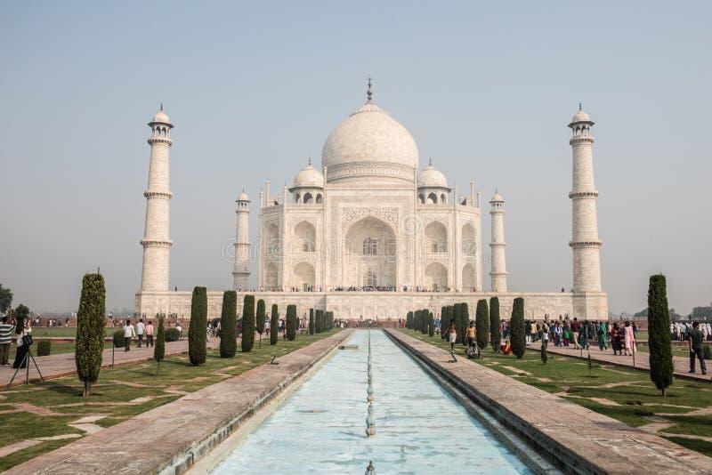 Beauté attrayante de Taj Mahal photo libre de droits