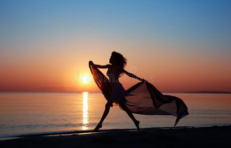 Beauté au coucher du soleil image libre de droits