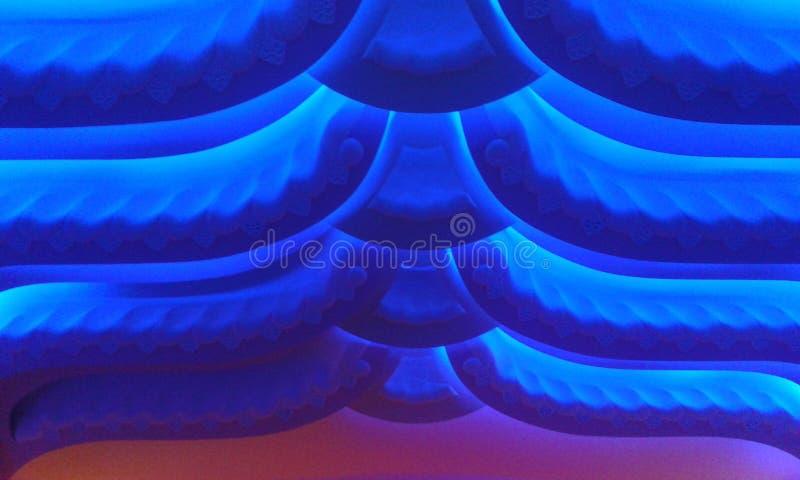 Beauté bleue images libres de droits