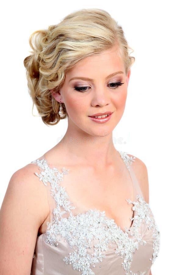 Beauté blonde images stock