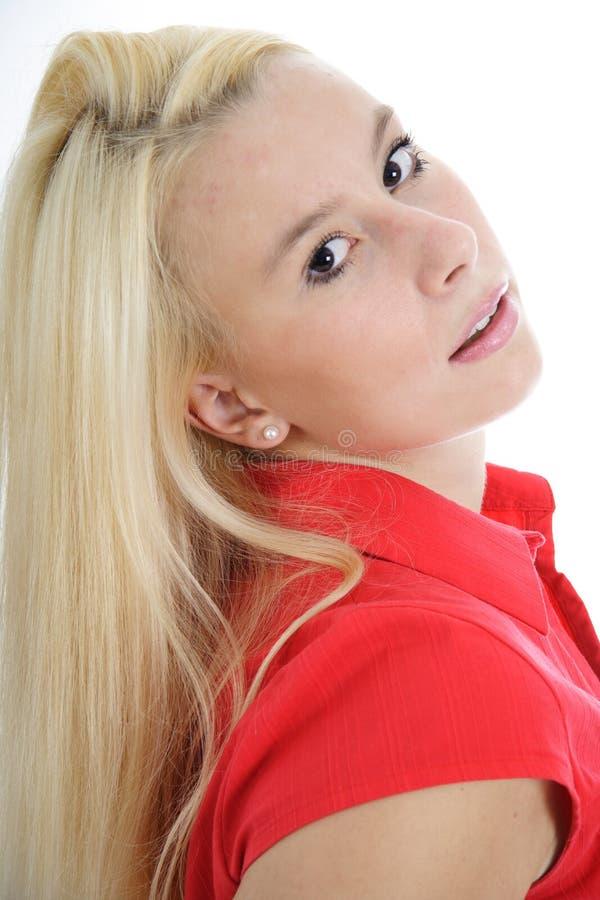 Beauté blonde 8 photographie stock libre de droits