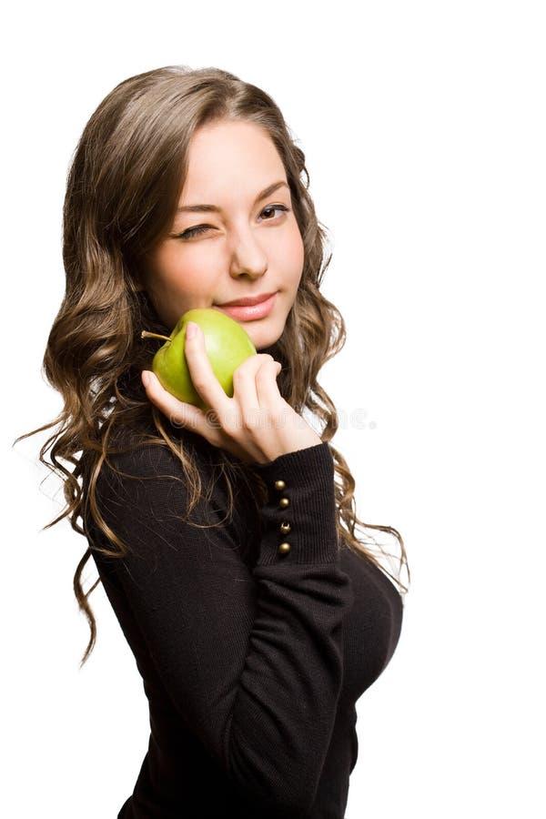 Beauté convenable de pomme. image libre de droits