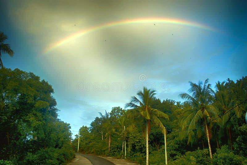 Beauté d'arc-en-ciel photos libres de droits