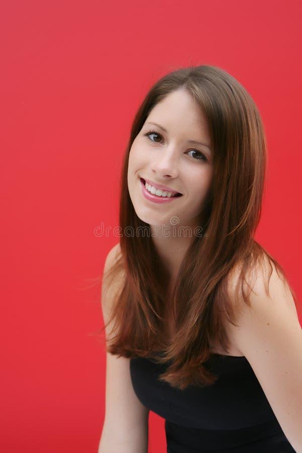 Beauté de Brunette photo stock
