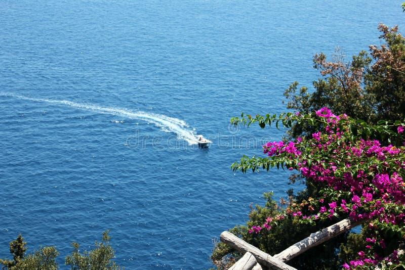 Beauté de côte d'Amalfi photographie stock