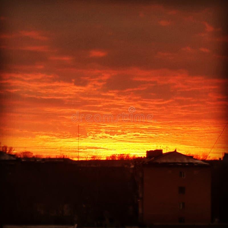 Beauté de ciel images stock