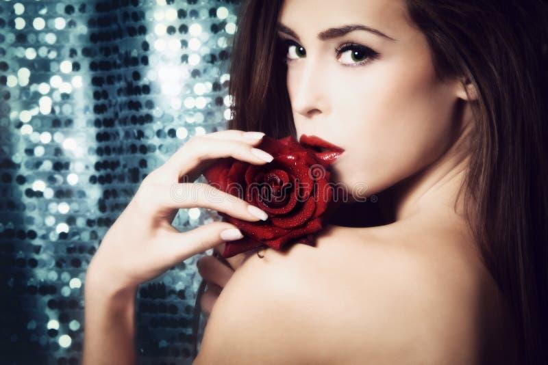 Beauté de femme photographie stock