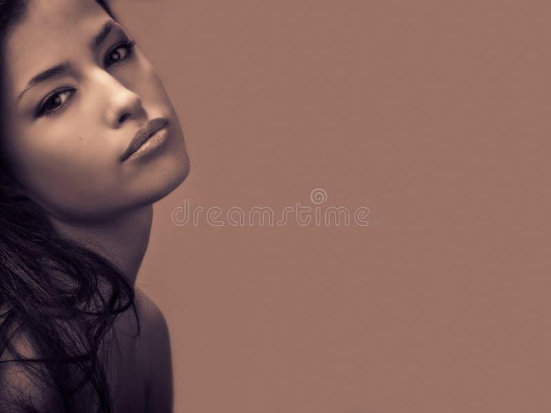 Beauté de femme photographie stock libre de droits