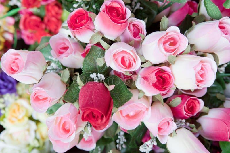 Beauté de fleur rose de bouquet de rose image stock