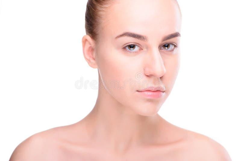 Beauté de jeune femme de santé image stock