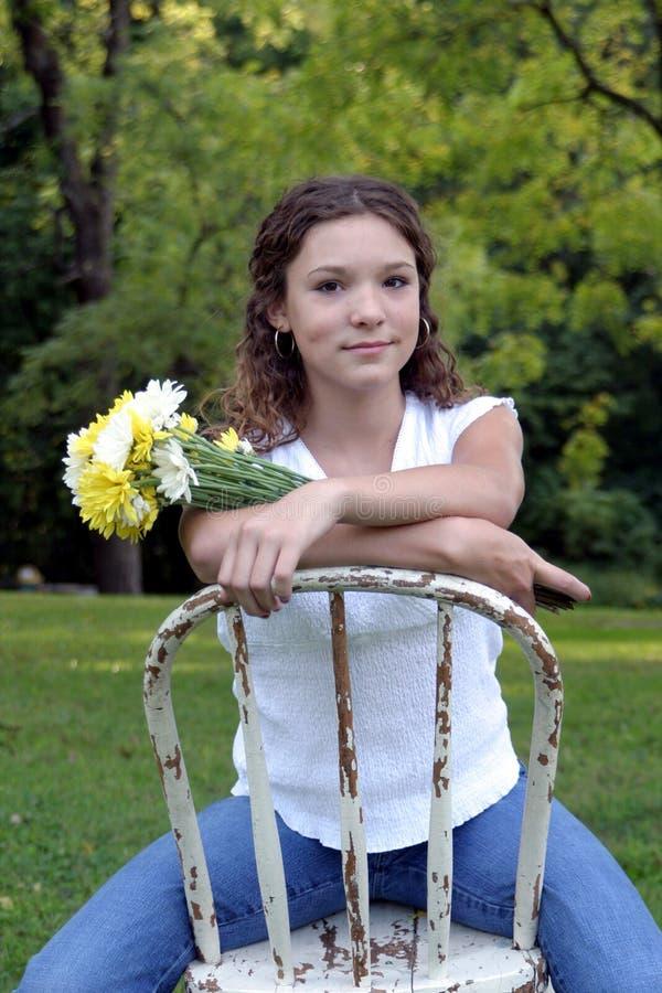 Beauté de l'adolescence photos stock