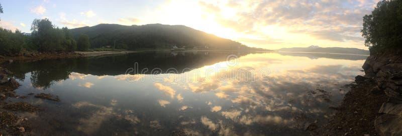 Beauté de la Norvège photo stock