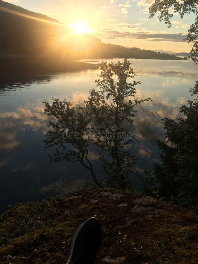 Beauté de la Norvège photographie stock