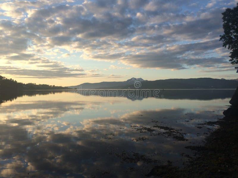 Beauté de la Norvège photos stock