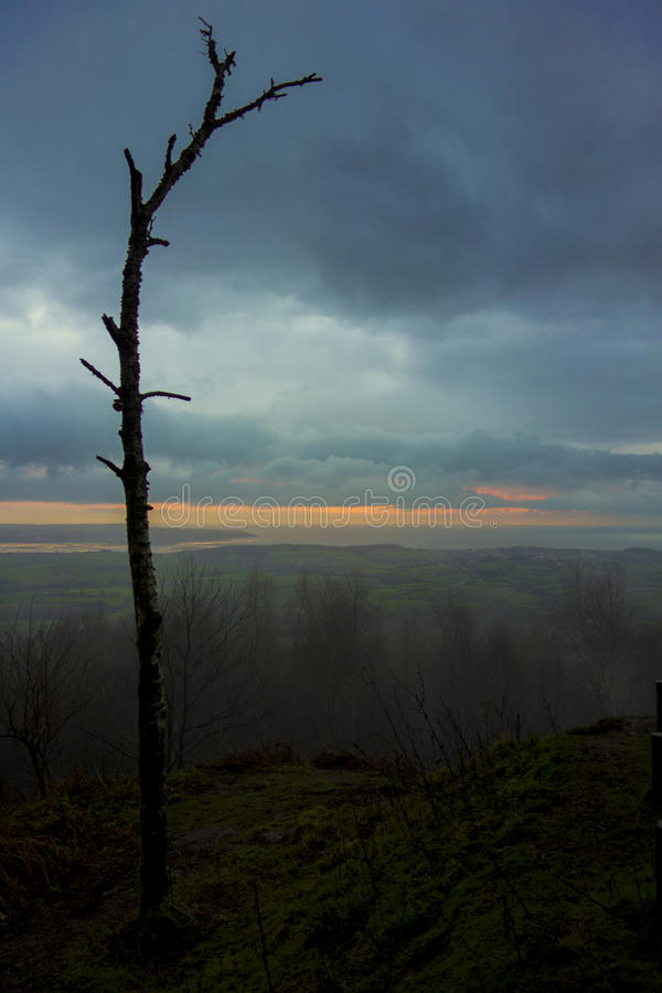 Beauté de lever de soleil photographie stock libre de droits