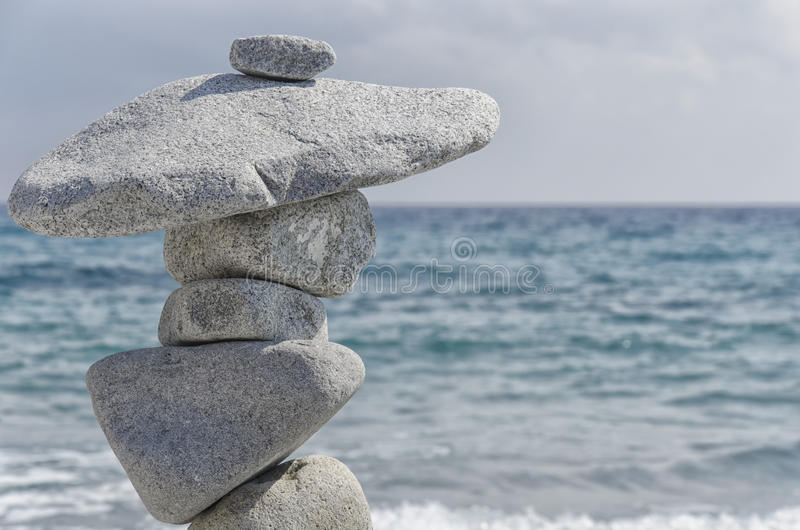 Beauté de nature dans l'équilibre harmonieux photos libres de droits