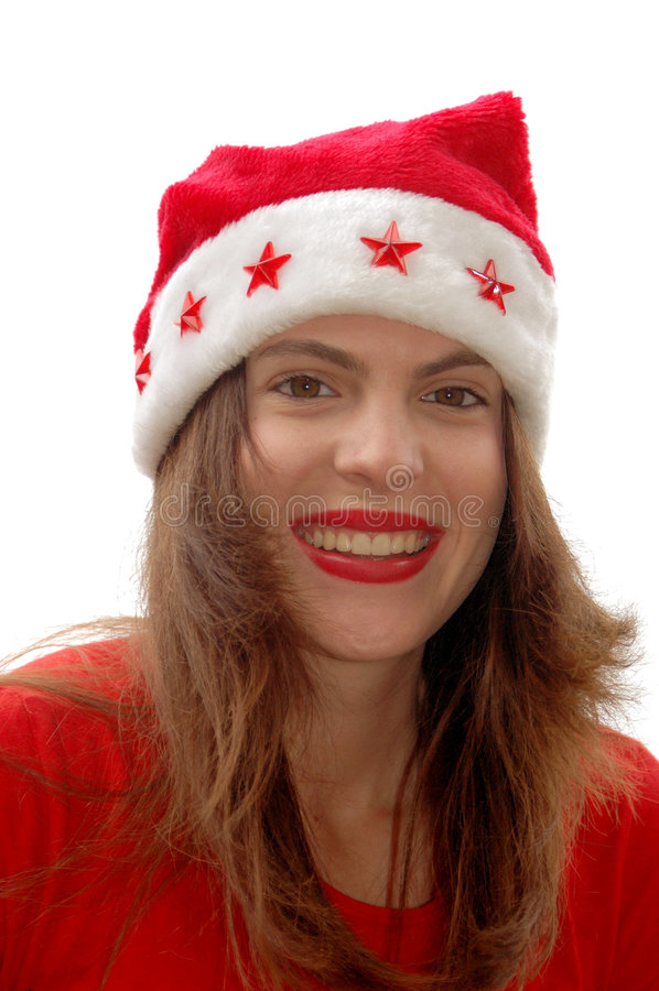 Beauté De Noël Photographie stock