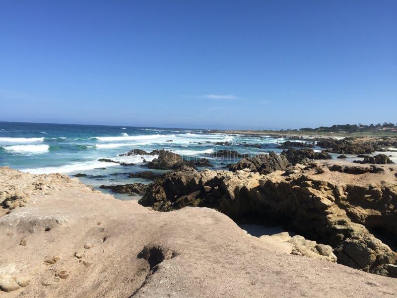Beauté de plage d'entraînement de 17 milles photographie stock libre de droits
