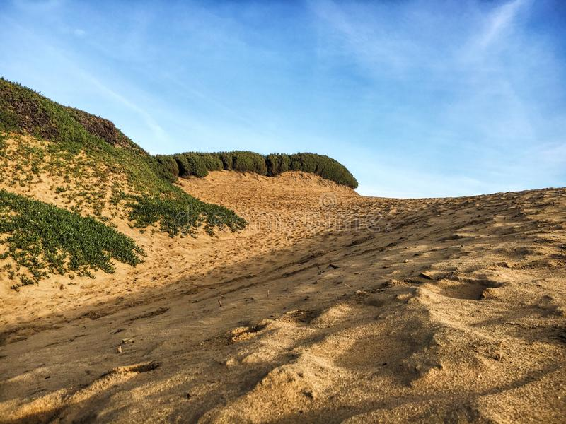 Beauté de plage d'océan photographie stock
