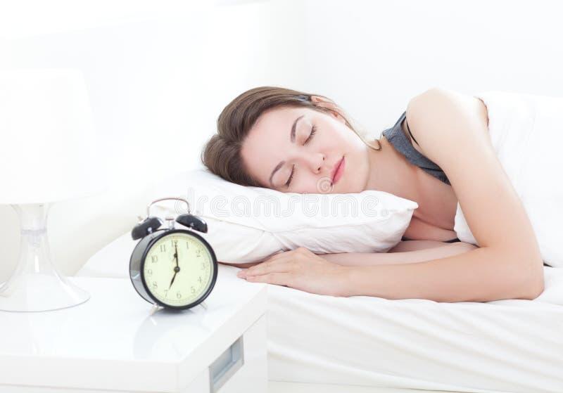 Beauté de sommeil photo libre de droits