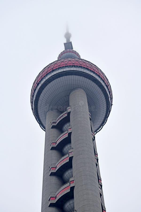 Beauté de ville de Changhaï, porcelaine images libres de droits
