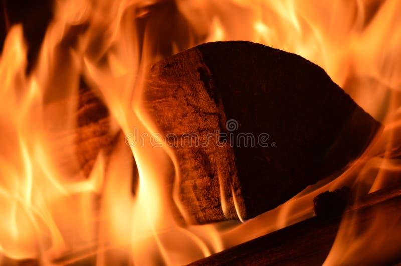 Beauté du feu image stock