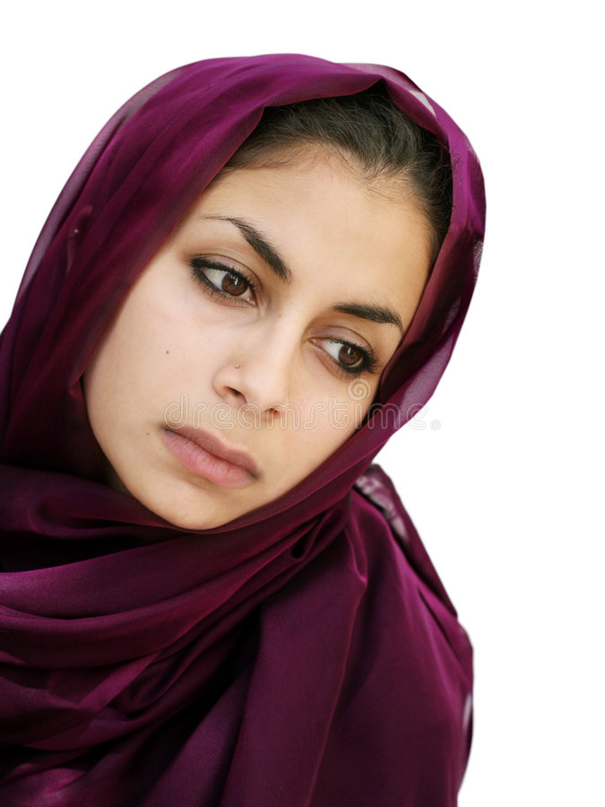 Beauté du Moyen-Orient photographie stock libre de droits
