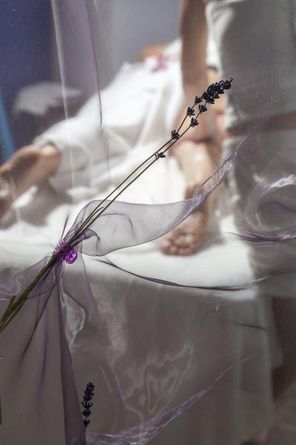 Beauté et anti massage de cellulites image libre de droits