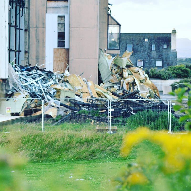 Beauté et destruction photo libre de droits