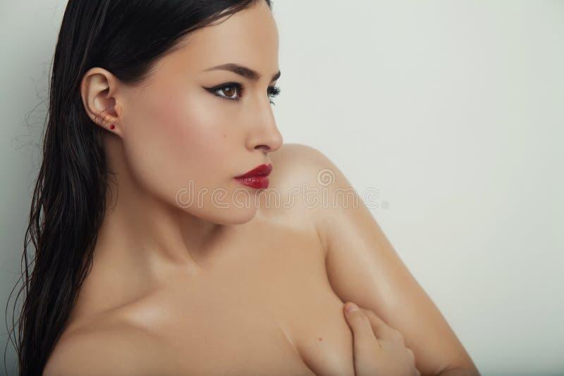 Beauté et maquillage photographie stock