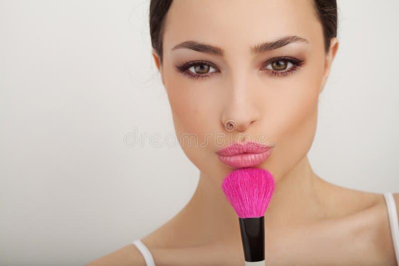 Beauté et maquillage photo libre de droits