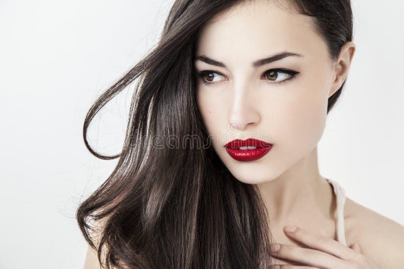 Beauté et maquillage photographie stock libre de droits