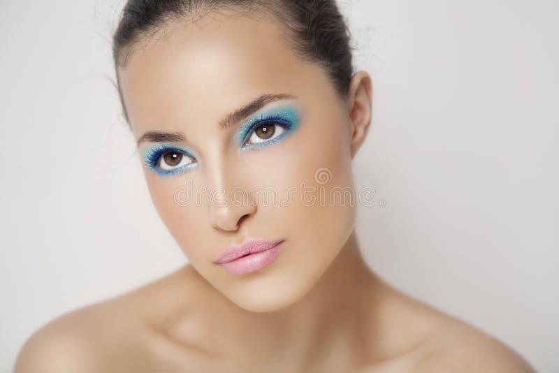 Beauté et maquillage photo stock