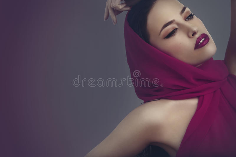 Beauté et mode image libre de droits