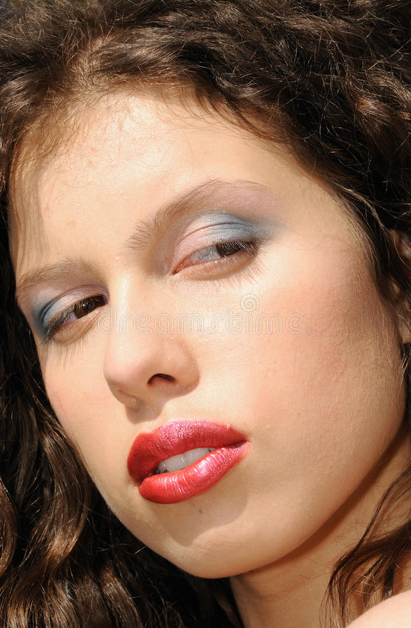 Beauté femelle photo libre de droits