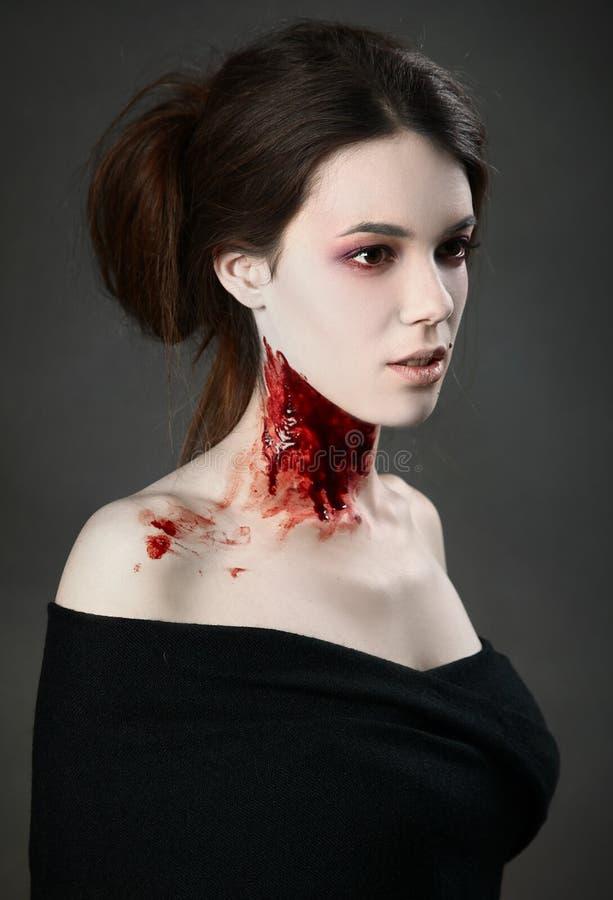 Download Beauté foncée image stock. Image du sang, personne, furieux - 45354255