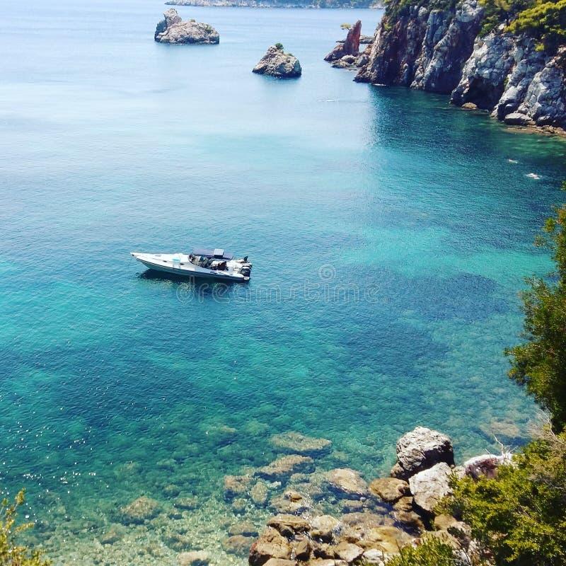 Beauté grecque d'îles images stock