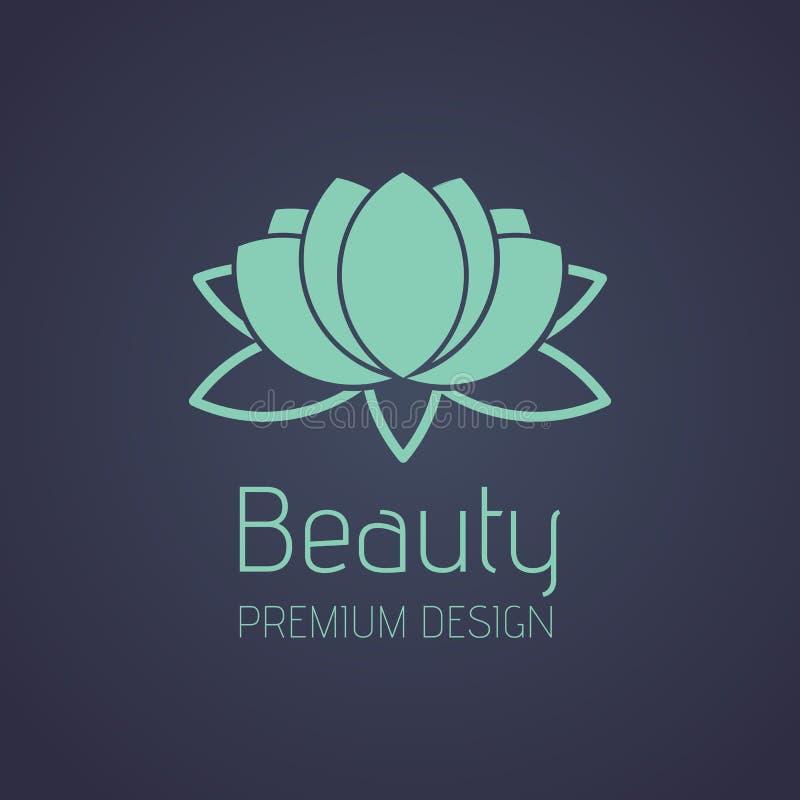 Beauté Lotus Logo photos libres de droits