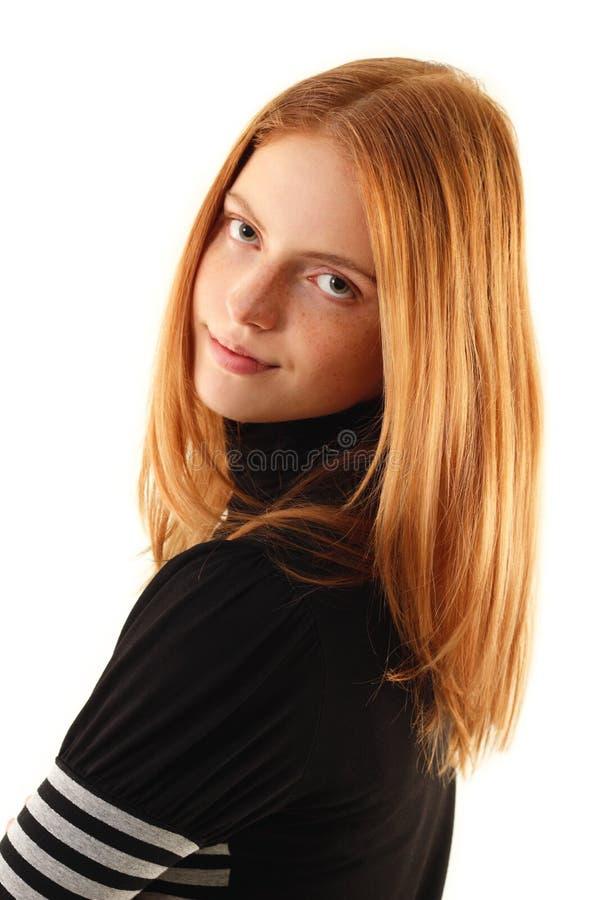 Beauté normale - aucune jeune femme de renivellement images libres de droits