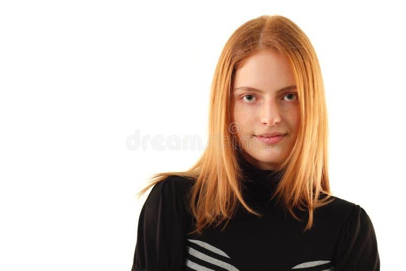 Beauté normale - aucune jeune femme de renivellement photographie stock libre de droits