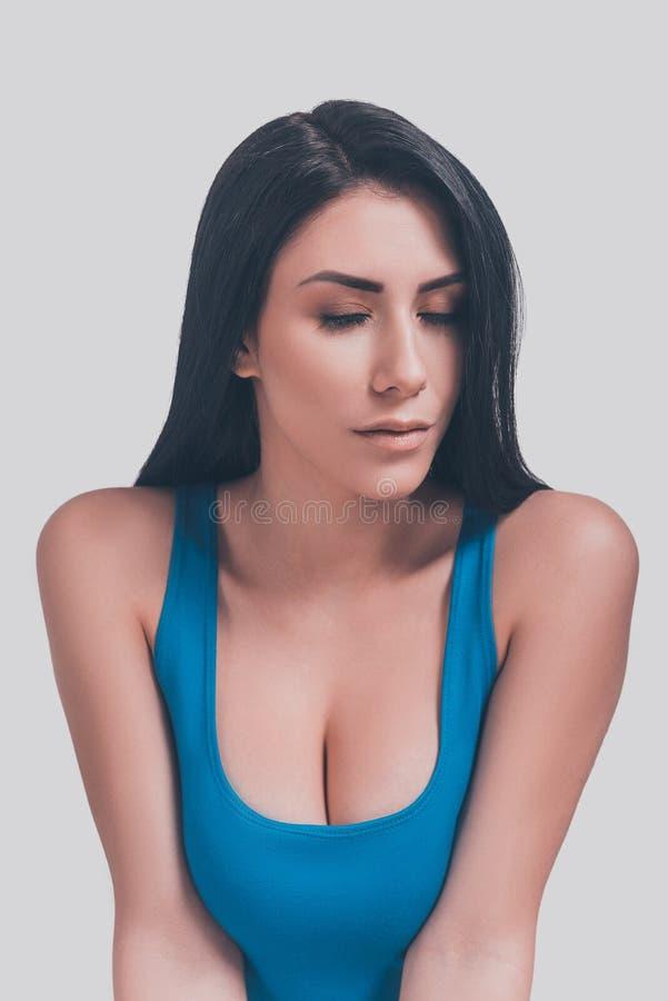 Beauté sensuelle image stock