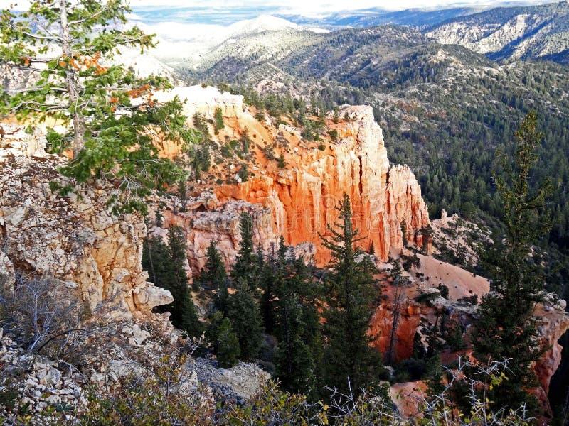 Beauté stupéfiante en Bryce Canyon National Park image libre de droits
