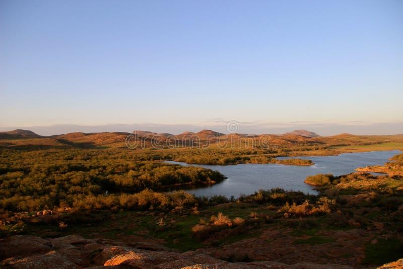 Beauté unique de terre de l'Oklahoma photos libres de droits