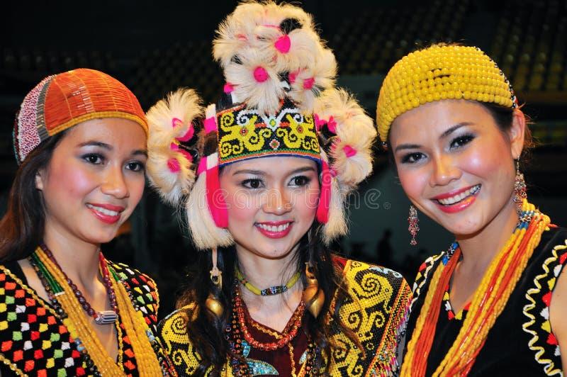 Beautés ethniques magnifiques photo stock