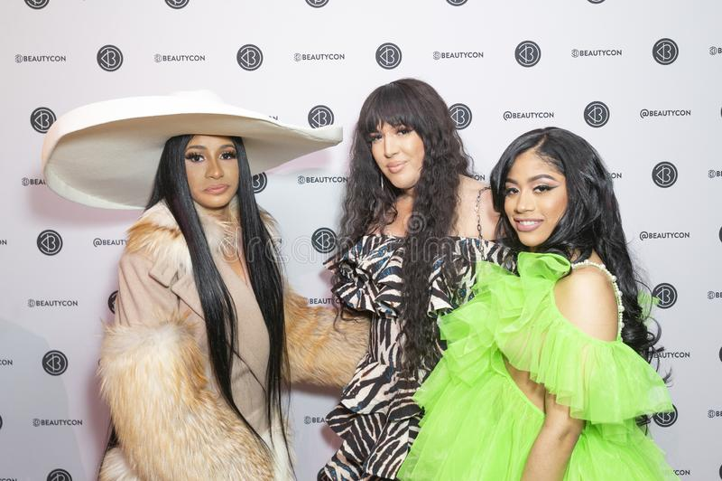 Beauticonfestival NYC 2019 - Dag 2 royalty-vrije stock fotografie