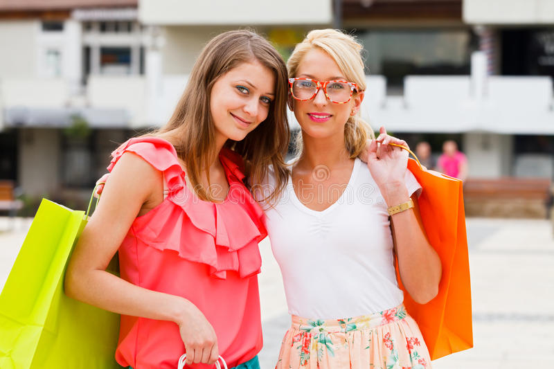Beauties Hanging Out Royalty Free Stock Photography
